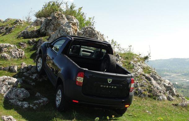 Dacia Duster Pick-Up: a doua versiune de caroserie a modelului este construită de un carosier român - Poza 4