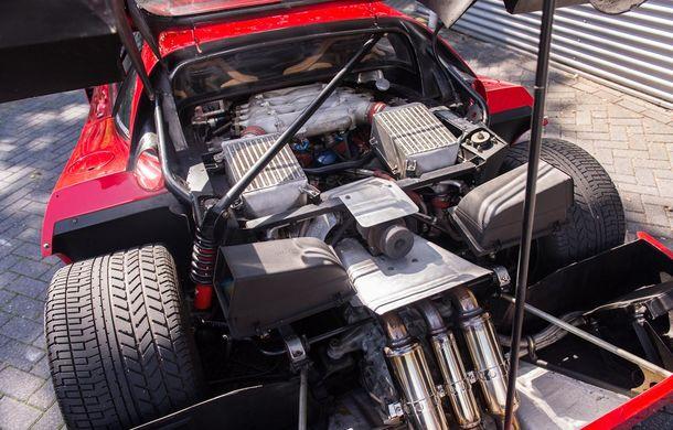 Un Ferrari F40 aparţinând lui Nigel Mansell s-a vândut pentru aproape 700.000 de euro - Poza 9