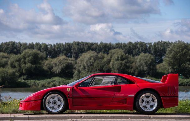 Un Ferrari F40 aparţinând lui Nigel Mansell s-a vândut pentru aproape 700.000 de euro - Poza 3