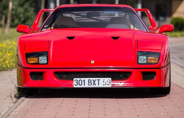 Un Ferrari F40 aparţinând lui Nigel Mansell s-a vândut pentru aproape 700.000 de euro - Poza 5