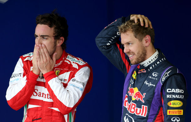 Ferrari confirmă plecarea lui Alonso şi semnarea unui contract pe trei ani cu Vettel - Poza 1