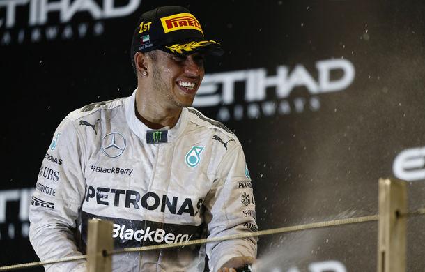 Hamilton a câştigat în Abu Dhabi şi a cucerit al doilea titlu mondial din carieră! - Poza 1