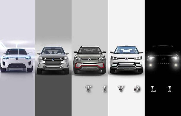 Ssangyong Tivoli - primele imagini cu noul SUV asiatic - Poza 3