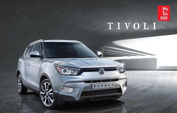 Ssangyong Tivoli - primele imagini cu noul SUV asiatic - Poza 1