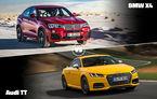 Meciuri fantastice azi în Autovot. Audi TT vs BMW X4 şi VW Passat vs. Mazda2
