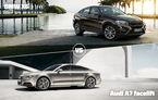 BMW şi Audi, în gardă: X6 vs. A7 facelift astăzi în Autovot 2015