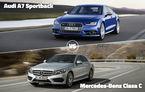 Audi şi Mercedes-Benz, în corzi: A7 Sportback şi Clasa C se luptă astăzi pentru calificare în Autovot 2015