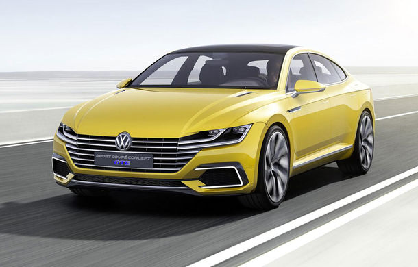 Volkswagen Sport Coupé Concept GTE: germanii pregătesc un model poziţionat între Passat şi Phaeton - Poza 1