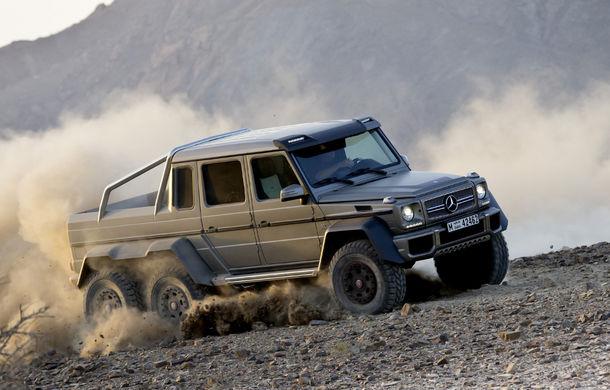 Mercedes-Benz a vândut toate exemplarele G63 AMG 6x6 disponibile - Poza 1
