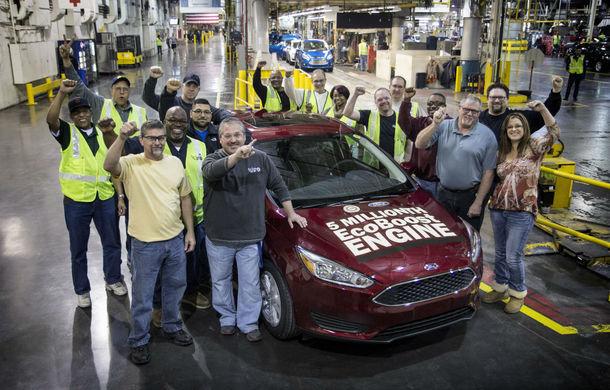 Ford sărbătoreşte cinci milioane de maşini echipate cu motor Ecoboost - Poza 1