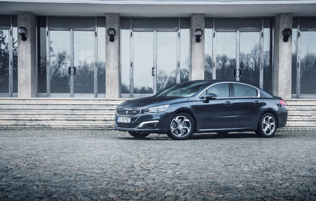 Test drive Peugeot 508 facelift