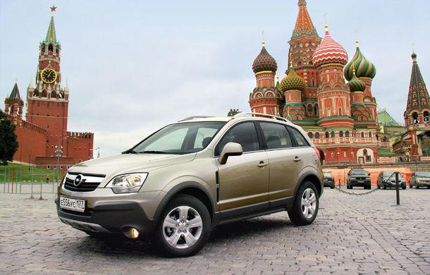 Opel se retrage de pe piața din Rusia, iar GM închide o uzină din Sankt Petersburg - Poza 1