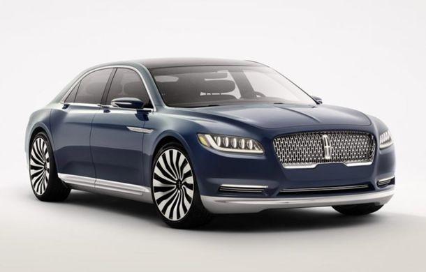 Lincoln Continental Concept prefaţează viitorul mărcii americane - Poza 1