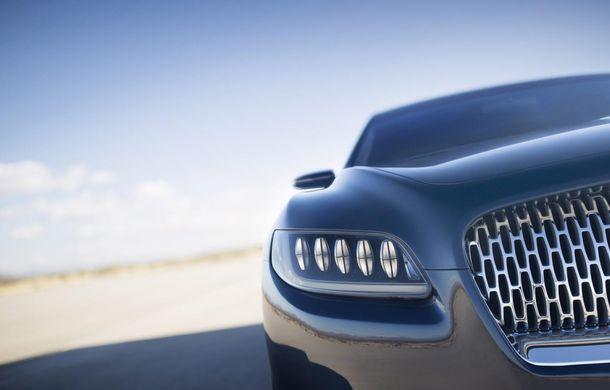 Lincoln Continental Concept prefaţează viitorul mărcii americane - Poza 7