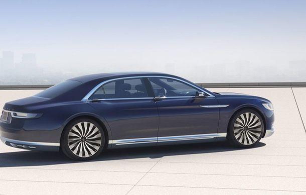 Lincoln Continental Concept prefaţează viitorul mărcii americane - Poza 4