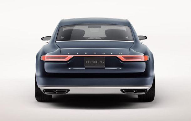 Lincoln Continental Concept prefaţează viitorul mărcii americane - Poza 2