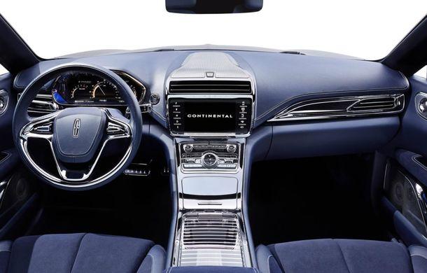Lincoln Continental Concept prefaţează viitorul mărcii americane - Poza 6