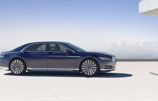 Lincoln Continental Concept prefaţează viitorul mărcii americane - Poza 3