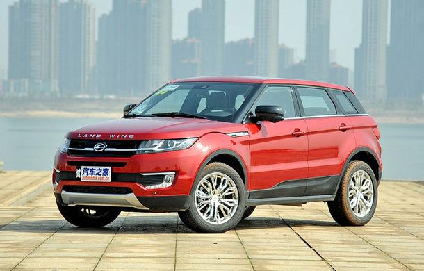 """Land Rover renunţă la războiul contra clonelor chinezeşti: """"Acolo nu există legi"""" - Poza 1"""