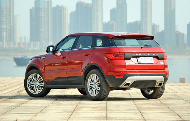 """Land Rover renunţă la războiul contra clonelor chinezeşti: """"Acolo nu există legi"""" - Poza 4"""