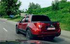 Fotospion: Dacia Duster cu cabină dublă testat pe străzile din România