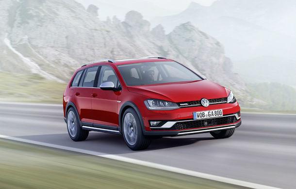 Preţuri Volkswagen Golf Alltrack în România: break-ul cu apetit off-road costă 25.134 de euro - Poza 1
