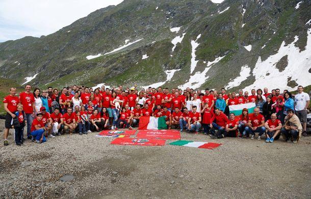 Alfa Fest, întrunirea anuală a pasionaților mărcii italiene, a adunat 100 de mașini pe Transfăgărșan - Poza 3