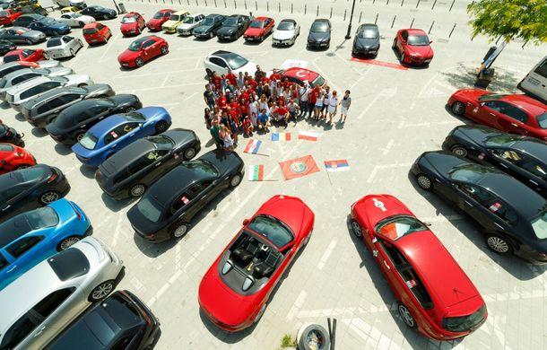 Alfa Fest, întrunirea anuală a pasionaților mărcii italiene, a adunat 100 de mașini pe Transfăgărșan - Poza 16