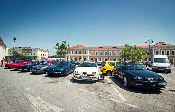 Alfa Fest, întrunirea anuală a pasionaților mărcii italiene, a adunat 100 de mașini pe Transfăgărșan - Poza 11