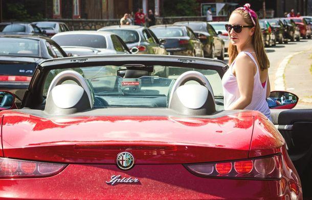 Alfa Fest, întrunirea anuală a pasionaților mărcii italiene, a adunat 100 de mașini pe Transfăgărșan - Poza 6