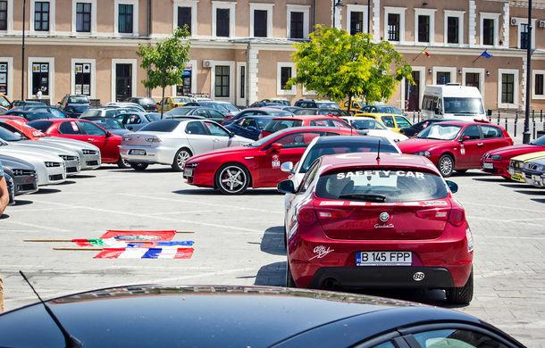 Alfa Fest, întrunirea anuală a pasionaților mărcii italiene, a adunat 100 de mașini pe Transfăgărșan - Poza 13