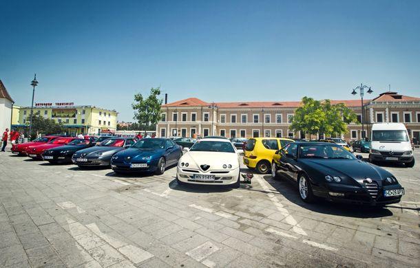 Alfa Fest, întrunirea anuală a pasionaților mărcii italiene, a adunat 100 de mașini pe Transfăgărșan - Poza 5