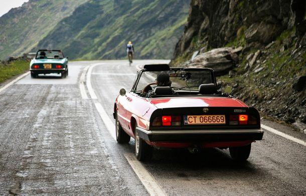 Alfa Fest, întrunirea anuală a pasionaților mărcii italiene, a adunat 100 de mașini pe Transfăgărșan - Poza 14