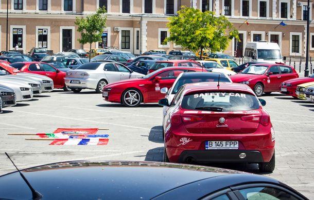 Alfa Fest, întrunirea anuală a pasionaților mărcii italiene, a adunat 100 de mașini pe Transfăgărșan - Poza 8