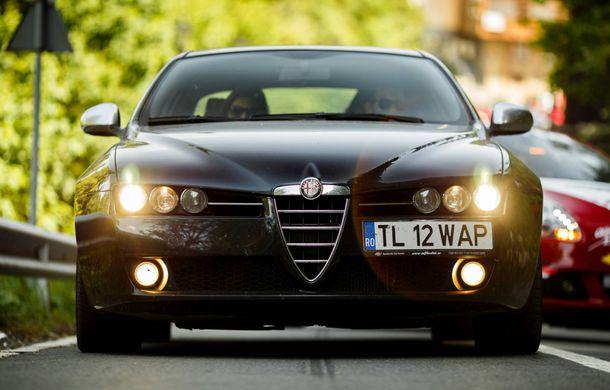 Alfa Fest, întrunirea anuală a pasionaților mărcii italiene, a adunat 100 de mașini pe Transfăgărșan - Poza 15