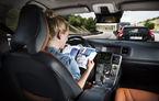 """Cum reacţionează şoferii când văd o maşină care se conduce singură pe şosea? De la """"gesturi indecente"""" la """"ochi miraţi"""""""