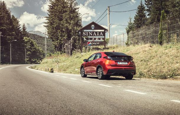 Test de consum cu Honda Civic 1.6 diesel: doar 2.9 litri pe ruta București-Sinaia-București - Poza 1