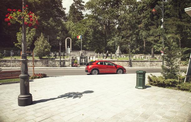Test de consum cu Honda Civic 1.6 diesel: doar 2.9 litri pe ruta București-Sinaia-București - Poza 14