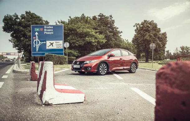 Test de consum cu Honda Civic 1.6 diesel: doar 2.9 litri pe ruta București-Sinaia-București - Poza 2