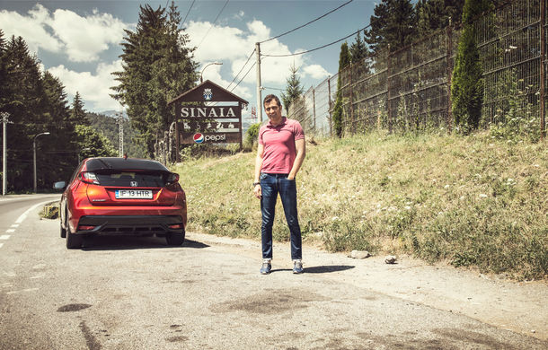 Test de consum cu Honda Civic 1.6 diesel: doar 2.9 litri pe ruta București-Sinaia-București - Poza 11