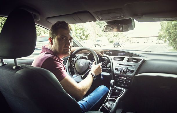 Test de consum cu Honda Civic 1.6 diesel: doar 2.9 litri pe ruta București-Sinaia-București - Poza 16