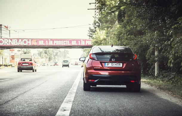 Test de consum cu Honda Civic 1.6 diesel: doar 2.9 litri pe ruta București-Sinaia-București - Poza 17