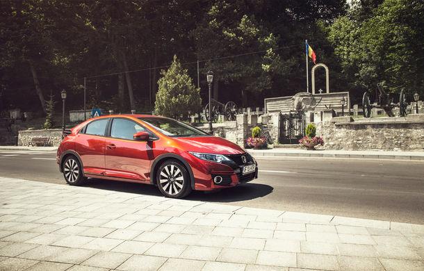 Test de consum cu Honda Civic 1.6 diesel: doar 2.9 litri pe ruta București-Sinaia-București - Poza 13