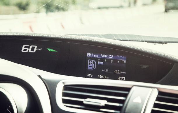 Test de consum cu Honda Civic 1.6 diesel: doar 2.9 litri pe ruta București-Sinaia-București - Poza 15