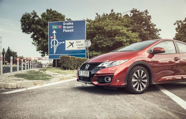 Test de consum cu Honda Civic 1.6 diesel: doar 2.9 litri pe ruta București-Sinaia-București - Poza 3