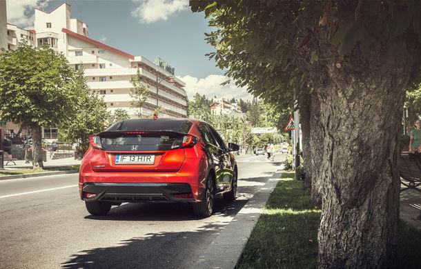 Test de consum cu Honda Civic 1.6 diesel: doar 2.9 litri pe ruta București-Sinaia-București - Poza 12
