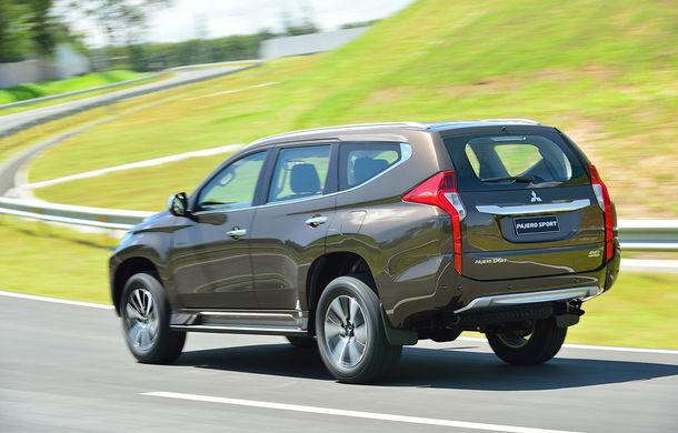 Mitsubishi Pajero Sport a primit o nouă generație pentru piețele din Asia și America - Poza 2