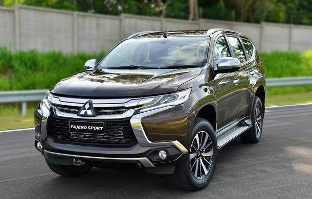 Mitsubishi Pajero Sport a primit o nouă generație pentru piețele din Asia și America - Poza 1