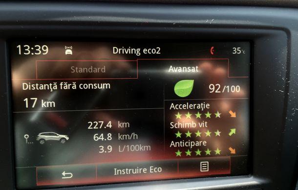 Test de consum cu Renault Kadjar 1.6 diesel: o nouă luptă cu consumul declarat - Poza 17