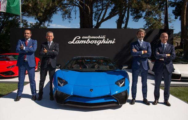 Lamborghini Aventador LP750-4 SV Roadster: noua variantă a decapotabilei de 750 CP va costa 357.000 de euro - Poza 2